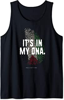 IT'S IN MY DNA Palestine Flag Shirt Palestinian Roots Tank Top