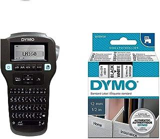 DYMO Label Maker Arabic & English Plus 1pcs 12mm*7M Black on White Tape | Label Printer Manager 160 Portable, Easy-to-Use,...