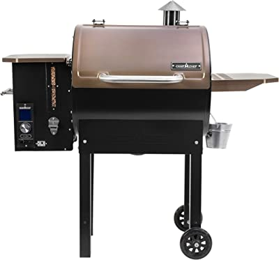 Camp Chef SmokePro DLX Pellet Grill w/New PID Gen 2 Digital Controller - Black