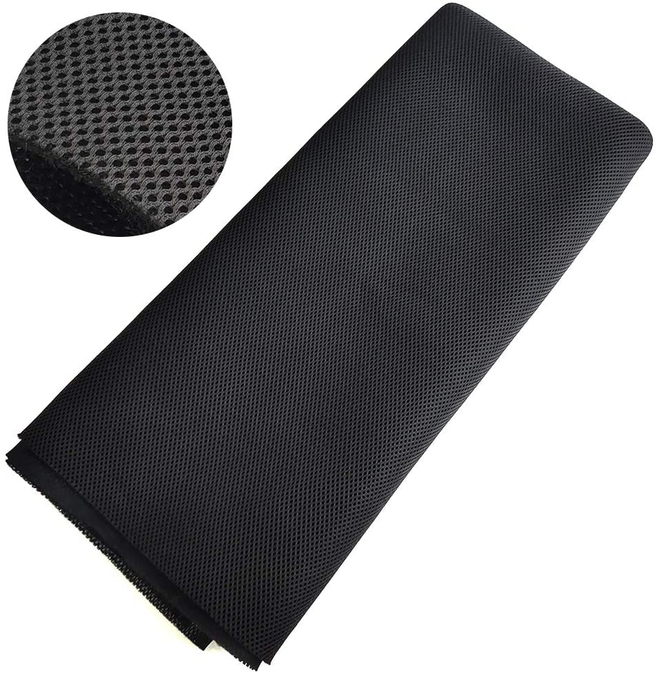Speaker Grill Cloth Stereo Mesh Repair for Oklahoma City Mall Some reservation Black Fabric