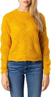Luxury Fashion | Only Womens 15187600YELLOW Yellow Jumper | Autumn-Winter 19