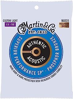 Sponsored Ad - Martin Guitar MA535 Authentic Acoustic Custom Light Guitar Strings, 92/8 Phosphor Bronze