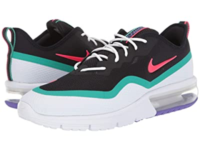 Nike Air Max Sequent 4.5 (Red Orbit/White/Kinetic Green) Men