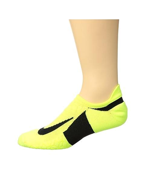 Elite Nike Black de Tab Cushion running Show Black No Calcetines Volt pqRPnFwE