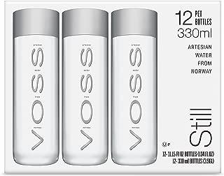 VOSS Artesian Still Water, 330 ml Plastic Bottles (Pack of 12)