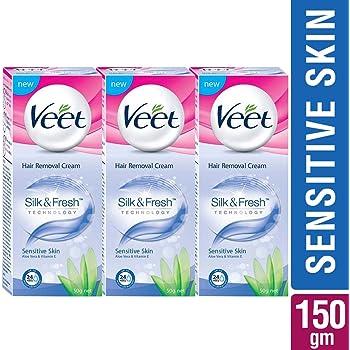 Buy Veet Hair Removal Gel Cream Sensitive Skin Formula 400ml