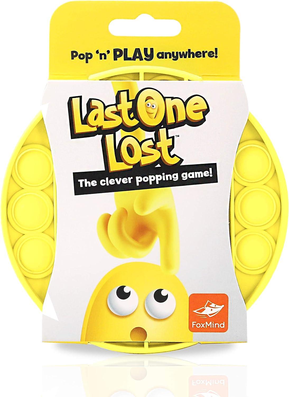 FoxMind Games Free shipping on posting reviews Last One Lost Yellow The Philadelphia Mall Original Push Pop - Bubb