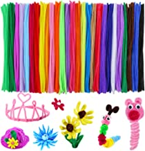 Caydo 324 Pieces Pipe Cleaners 27 Colors Chenille Stems for DIY Art Creative Crafts Decorations (6 mm x 12 Inch)