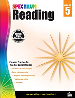Spectrum Reading Workbook, Grade 5