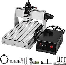 VEVOR DIY Mini CNC 3040 Graveermachine, 3 draaiassen, CNC 3040 graveermachine, lasergravure, 3 assen CNC 3040 freesmachine...