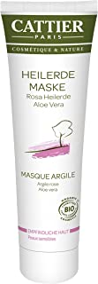 Cattier Rosa geneeskrachtige aard-masker voor de gevoelige huid, per stuk verpakt (1 x 100 ml)