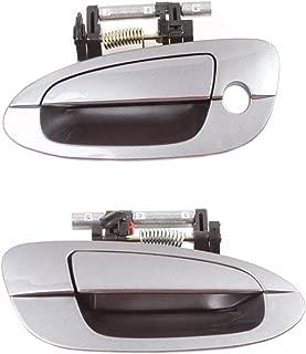 CF Advance For 02-06 Nissan Altima W40 Precision Gray Front Pair Set 2PCS Outside Door Handle 2002 2003 2004 2005 2006