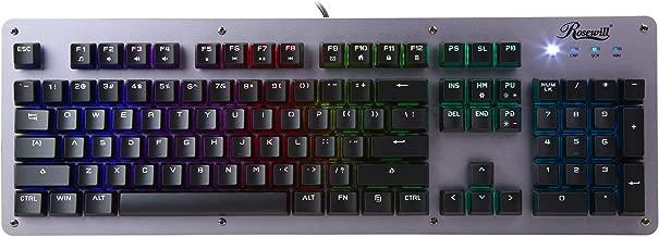 Rosewill Neon K52 - Hybrid -Mechanical RGB Gaming Keyboard (Waterproof)