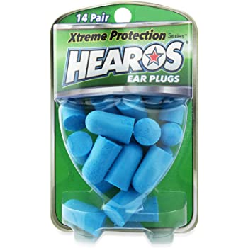 Hearos Ear Plugs Xtreme Protection Series 14 Count, Pack of 3