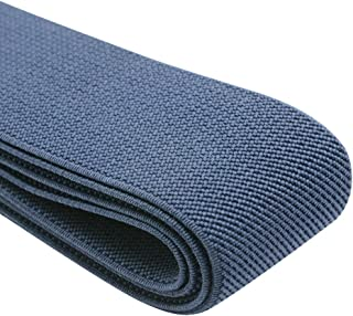 1fac63f77b iCraft 1.5-Inch Wide Colored Double-side Twill Woven Elastic