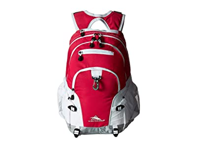 High Sierra Loop Backpack (Pink Punch/White/Ash) Backpack Bags