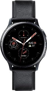 ساعة اكتيف 2 من سامسونج جالكسي، 40 ملم ستانلس ستيل، اسود - SM-R830NSKAKSA