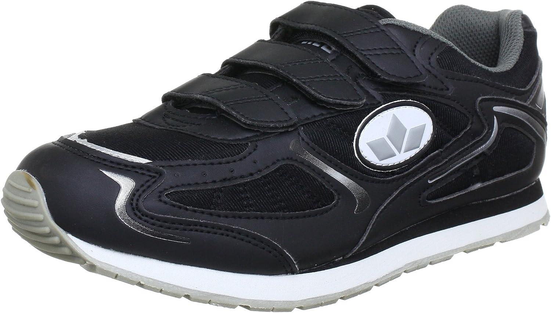 (3.5 UK, Black (black grey))  Lico Nelson V, Boys' Fitness shoes