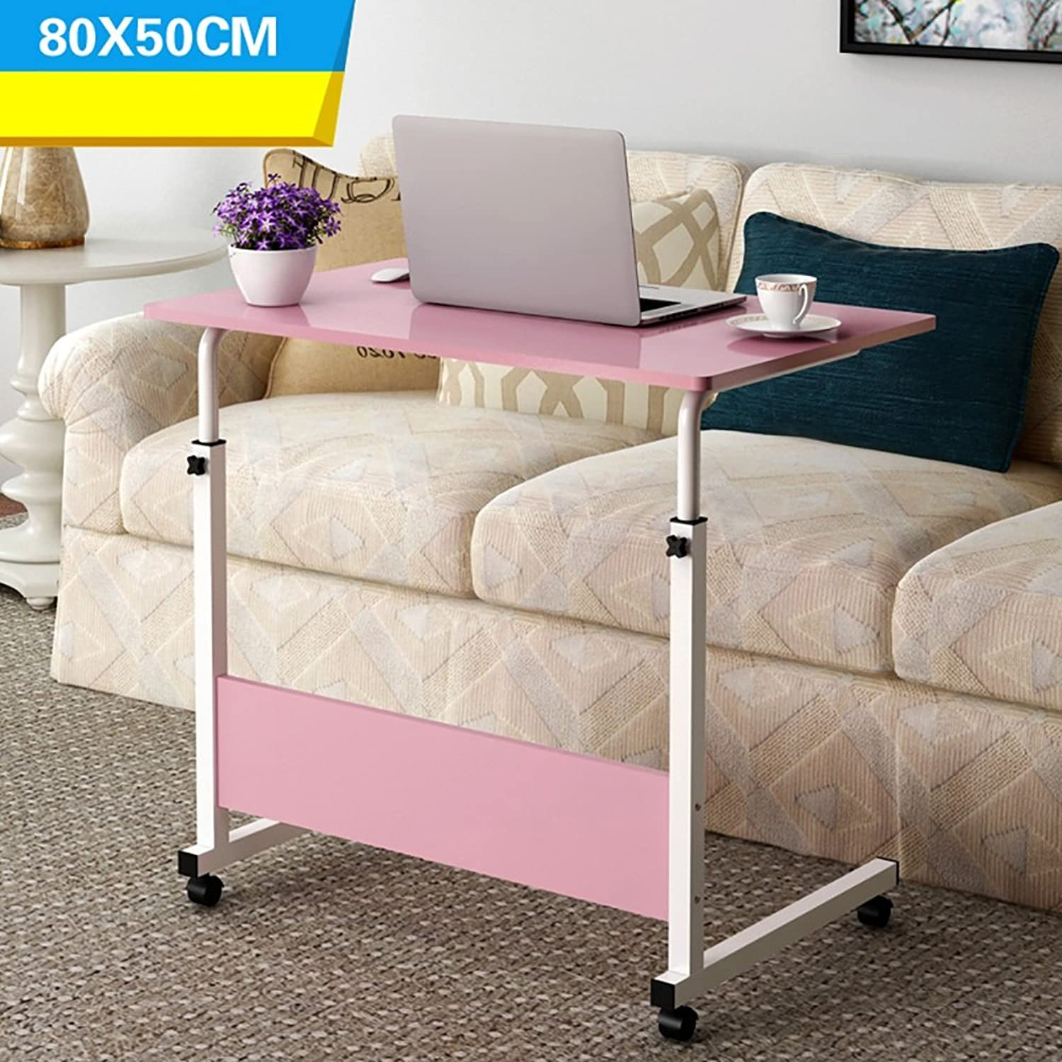 Laptop Desk Modern Simplicity Assembly Desktop Computer Desk Move Learning Table Adjustable Height Workbench ( color   14  )