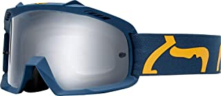 Fox Racing Youth Air Space Race Goggle-Navy/Yellow
