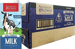 Australia's Own Full Cream UHT Milk, 1L, (Pack of 12)