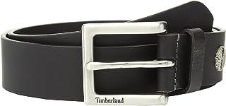 حزام أمان جلدي للرجال من Timberland أسود 32