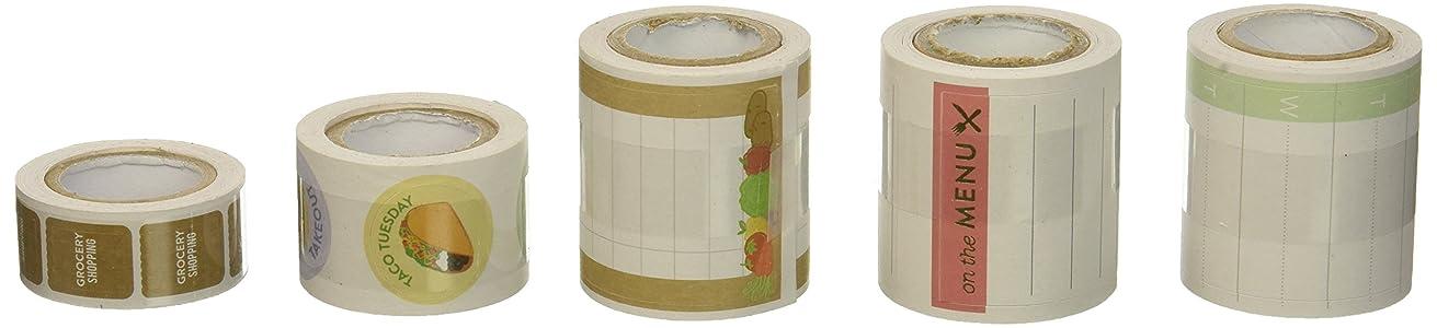 Me & My Big Ideas PRS-02 Happy Planner Food/Menu Sticker Roll, Multicolor