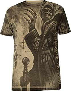 XTREME COUTURE BY AFFLICTION T-Shirt Grease /& Gasoline Weinrot T-Shirts