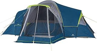 چادر کمپینگ خانوادگی 10 نفره Ozark Trail با 3 اتاق و ایوان روی صفحه