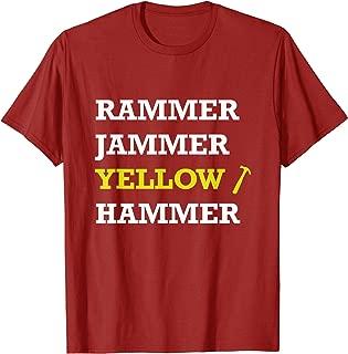 Best rammer jammer yellow hammer shirt Reviews
