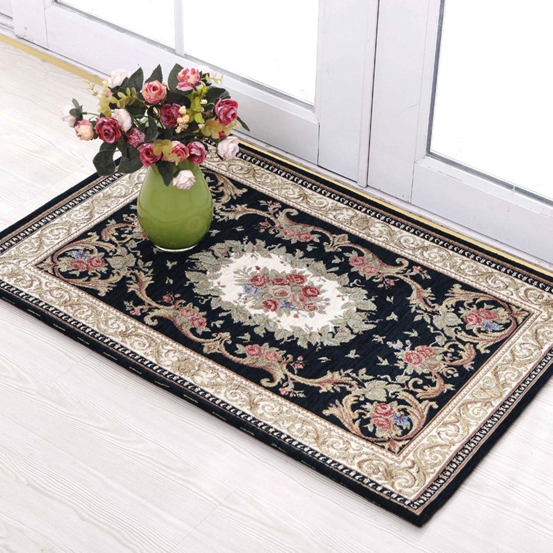 Living Room,Bedroom,Doormats Kitchen,Restroom,Bathroom,Absorbent,Anti-Slip Foot Pads Stairs Doormat Home-C 90x140cm(35x55inch)