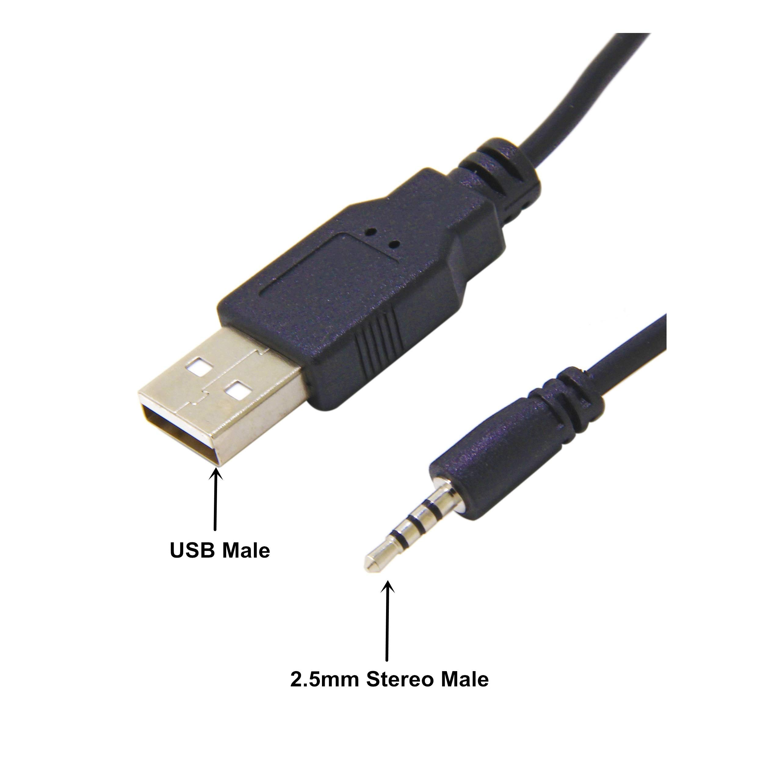 1M USB 3.5mm Cable Wireless Charger