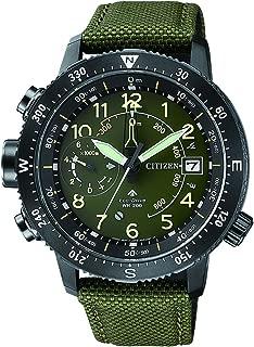 Citizen Men's Eco-Drive BN4045-12X Black Cloth Japanese Quartz Diving Watch
