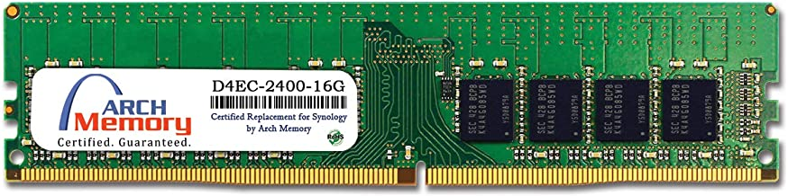 Arch Memory Replacement for Synology D4EC-2400-16G 16 GB DDR4-2400 PC4-19200 288-Pin ECC UDIMM RAM for RS4017xs+