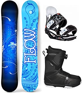 flow bindings and boots package