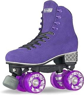 Crazy Skates Evoke Roller Skates for Women – Stylish Suede Quad Skates