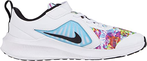 White/Black/Fire Pink/Blue Fury