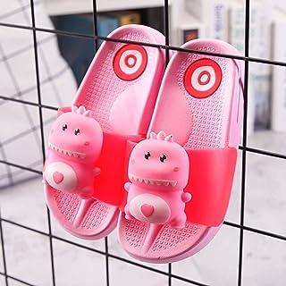 Children Cartoon Dinosaur Slippers Girls Soft Sole Sandals Boy Summer Non-Slip Open Toe Flip Flops Baby Fashion Cute Home ...