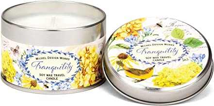 Michel Design Works Soy Wax Candle in Travel Tin Size, Tranquility