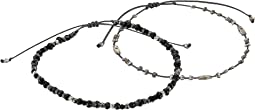 Chan Luu - Black Mix Bracelet Set