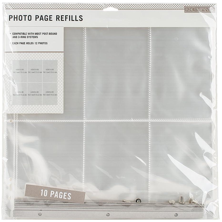 K&Company Photo Page Refills 12