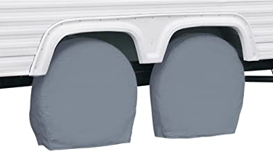 Classic Accessories OverDrive Standard RV & Trailer Wheel Cover, Grey, for 27