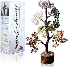 Tangie Marie Premium Meditation Decor Spiritual Decor Seven Chakra Tree Therapy Meditate Crystal Gemstone B...