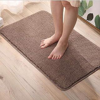 Bath Mat for Bathroom,Cake Velvet Bathroom Shower Rug Machine-Washable Absorbent Shaggy Bath Carpet,Non-Slip and Non-Shedd...