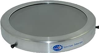 "Glass Solar Filter 12.50'' (ST1250G) Glass Solar Filter Fits: Celestron: C11 SCT, StarHopper 10″ Dobsonian; Meade 10"" Lightbridge Dobsonian; Orion: SkyQuest XT10, Atlas 10;"