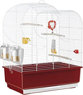 Ferplast Eva Bird Cage, 49 x 30 x 63 cm, White
