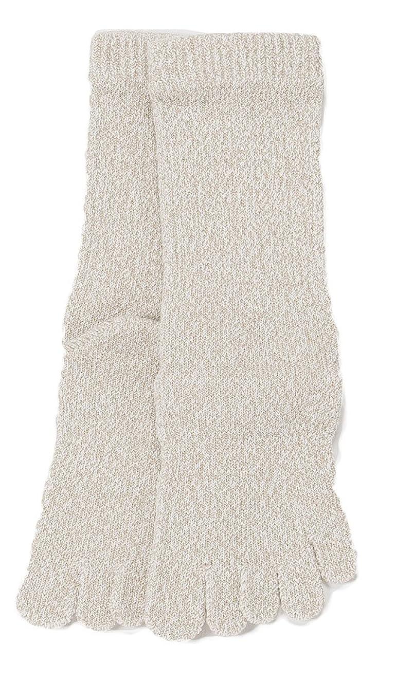 鑑定申込み宇宙のLASANTE 1150:ユビレッグスポーツ厚手5本指ソックス(五本指靴下) S?M