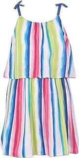 Nautica Girls' Spaghetti Strap Fashion Dress