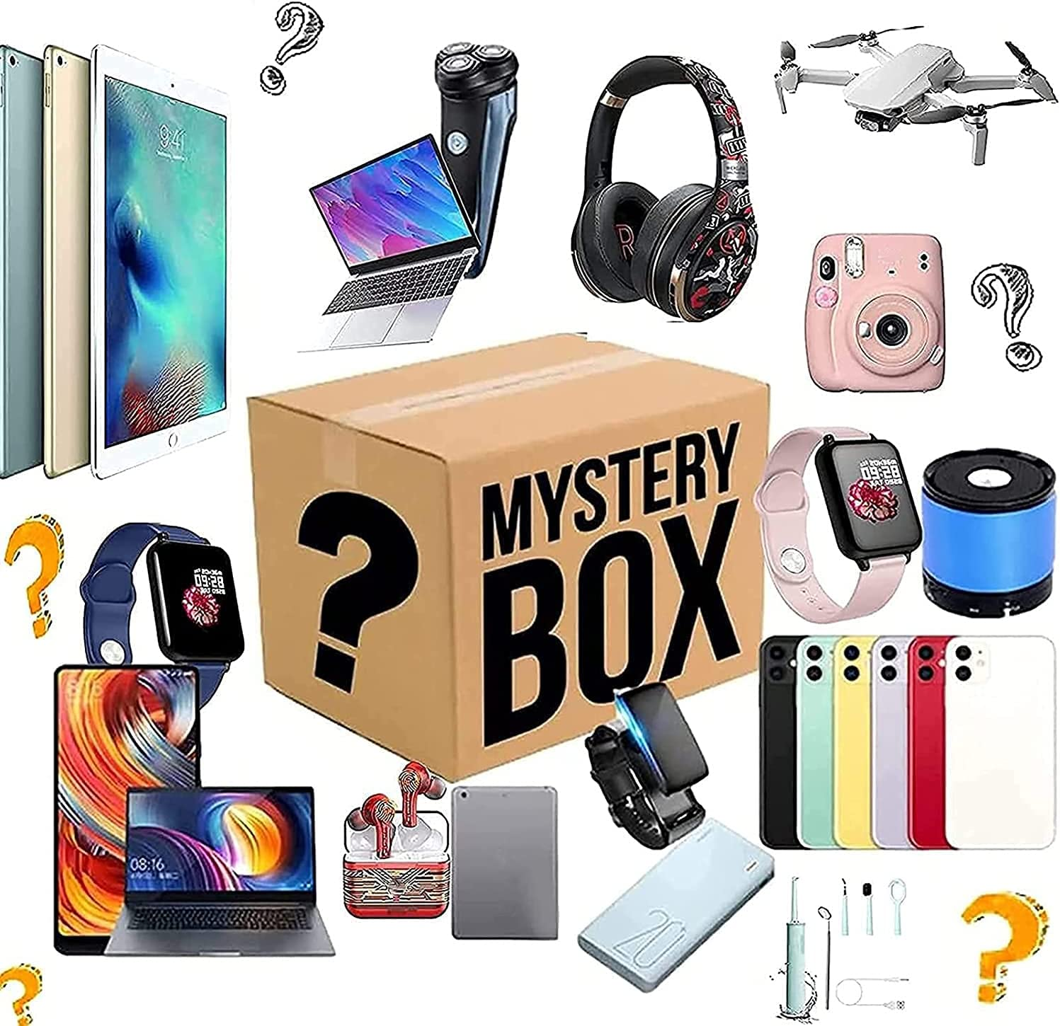 Mysteries Boxes Our shop OFFers the best Max 53% OFF service Electronic Lucky Mysterious Produ Random