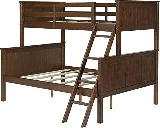 Dorel Living Maxton Twin over Full Bunk Bed, Mocha